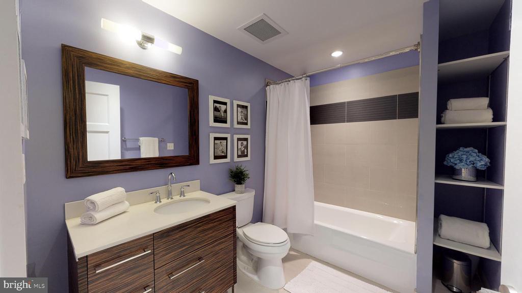 Hall Bath - 1610 N QUEEN ST #243, ARLINGTON