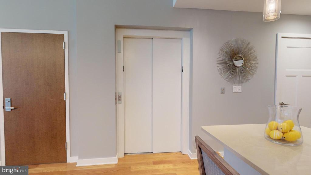 Elevator Doors Open here - 1610 N QUEEN ST #243, ARLINGTON