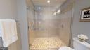 Shower With Frameless Glass Doors - 1610 N QUEEN ST #243, ARLINGTON