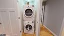 Laundry Area - 1610 N QUEEN ST #243, ARLINGTON
