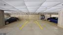 One of the Two Assigned Garage Spaces - 1610 N QUEEN ST #243, ARLINGTON