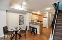 Dining Area/Breakfast Bar provides lots of Seating - 616 E ST NW #655, WASHINGTON