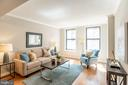 Well Proportioned Rooms throughout Residence - 616 E ST NW #655, WASHINGTON