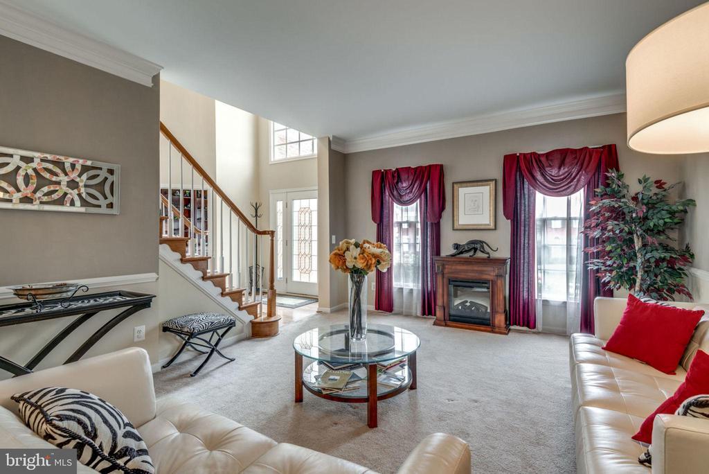 Living Room - 43755 CRANE CT, ASHBURN