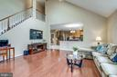 Family Room w/2nd Staircase - 43755 CRANE CT, ASHBURN
