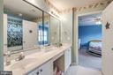 Jack and jill bathroom - 43755 CRANE CT, ASHBURN