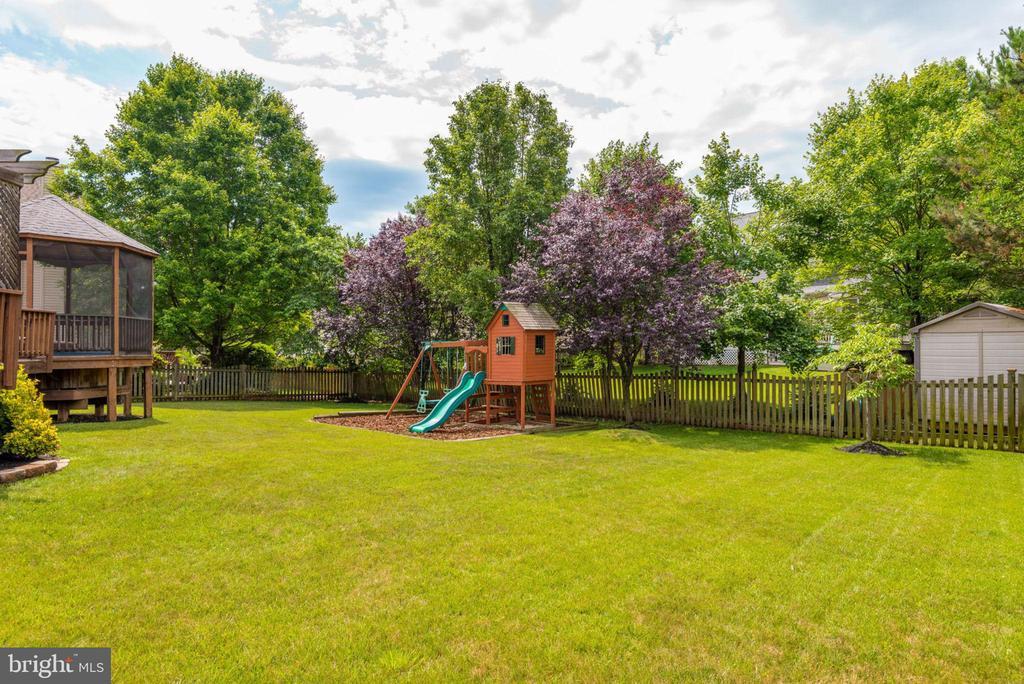 Leveled Backyard - 43755 CRANE CT, ASHBURN