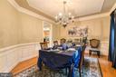 Elegant Dining Room - 36 PELHAM WAY, STAFFORD