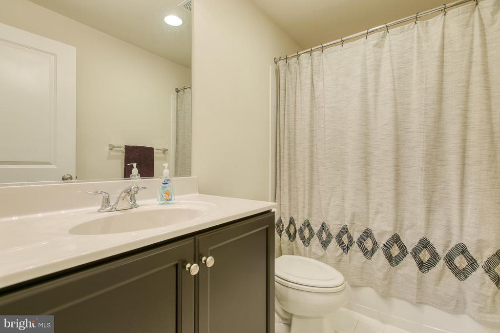 Full bath in basement - 301 PEAR BLOSSOM RD, STAFFORD