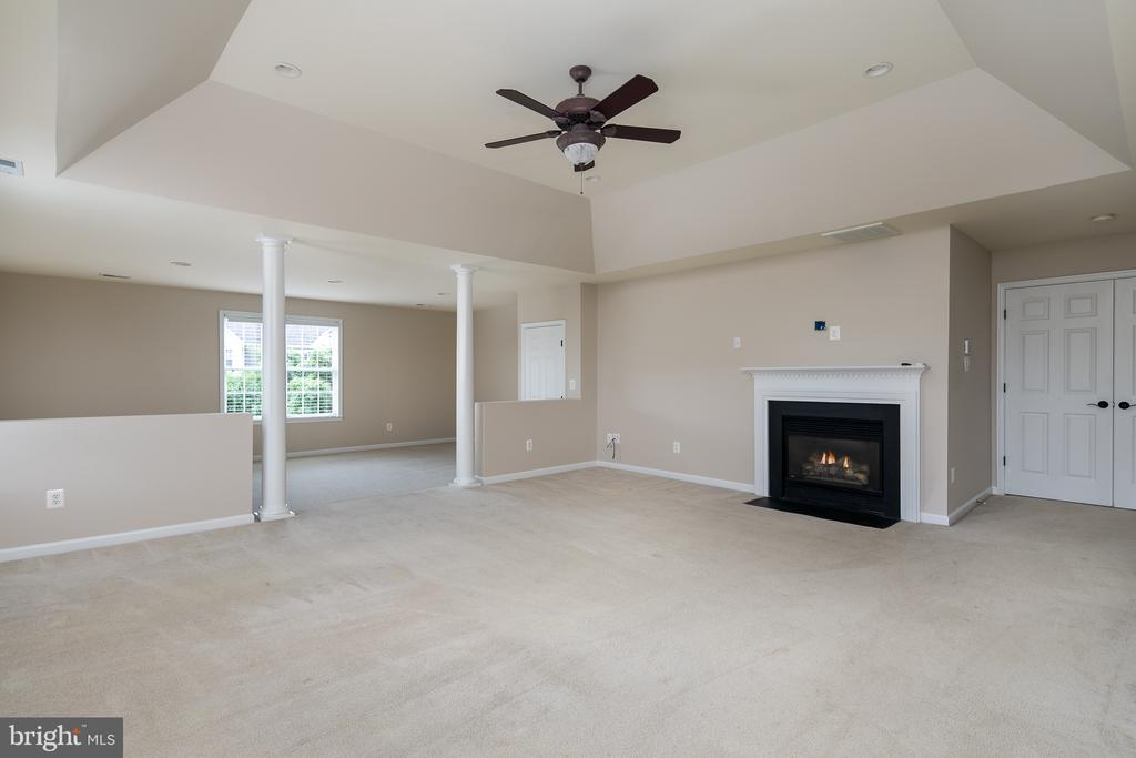 Master Suite with Fireplace - 21109 CARTHAGENA CT, ASHBURN