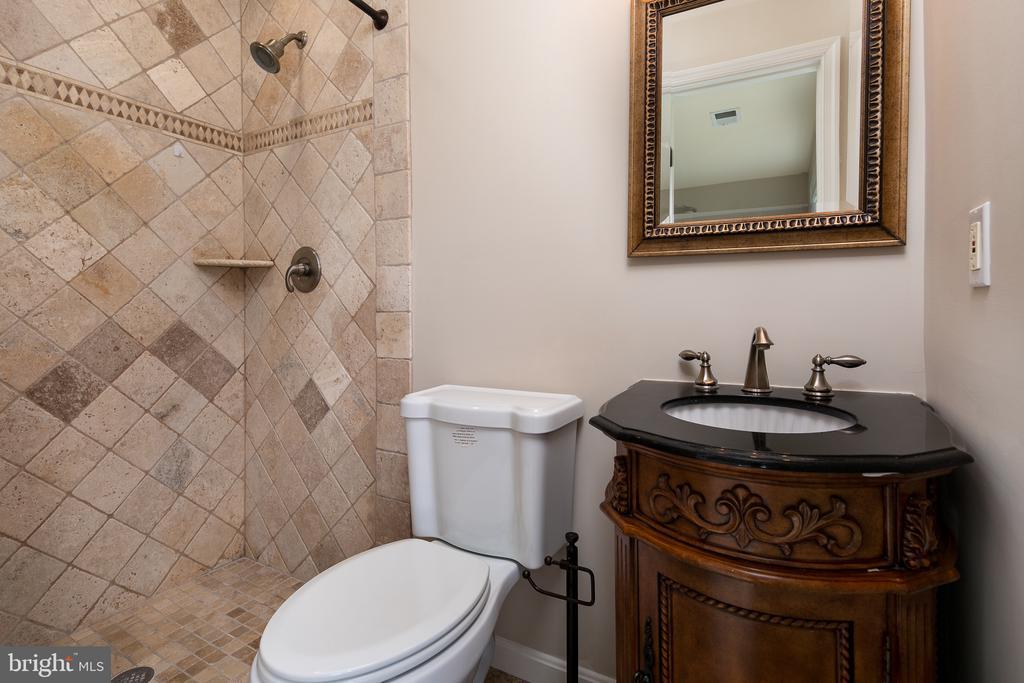 Bath 2 with Heated Tile Floor - 21109 CARTHAGENA CT, ASHBURN