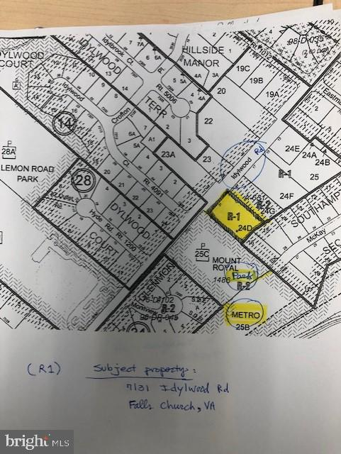 Land for Sale at 7131-Idylwood Idylwood Rd Falls Church, Virginia 22043 United States