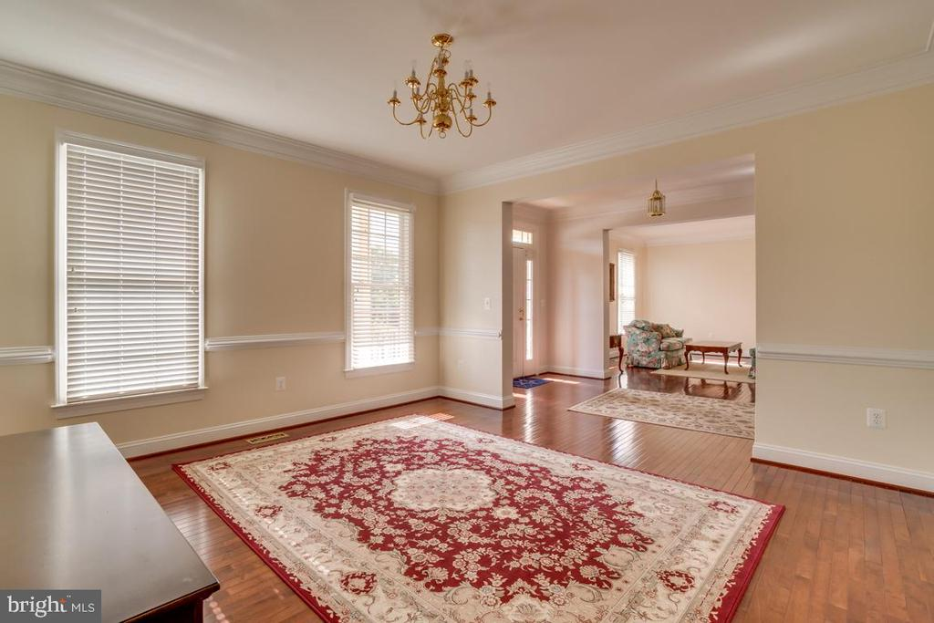 Dinning Room - 12274 TIDESWELL MILL CT, WOODBRIDGE