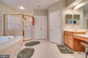 Master Bathroom - 12274 TIDESWELL MILL CT, WOODBRIDGE