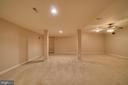 Plenty of Space in Basement - 12274 TIDESWELL MILL CT, WOODBRIDGE