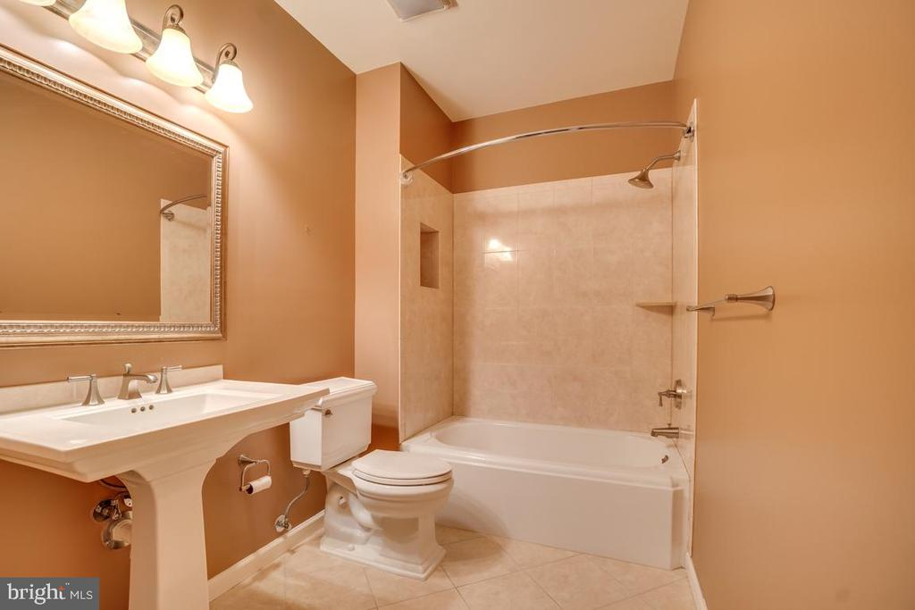 Basement Full Bathroom - 12274 TIDESWELL MILL CT, WOODBRIDGE