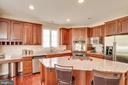Plenty of Counter Top Space - 12274 TIDESWELL MILL CT, WOODBRIDGE