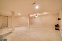 Extra Large Finished Basement - 12274 TIDESWELL MILL CT, WOODBRIDGE