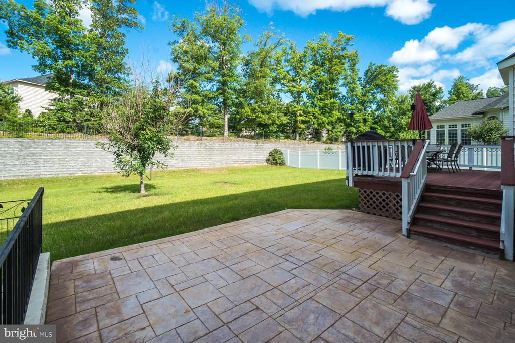 Patio - 12274 TIDESWELL MILL CT, WOODBRIDGE