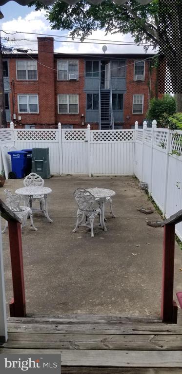 Backyard - 3325 AMES ST NE, WASHINGTON