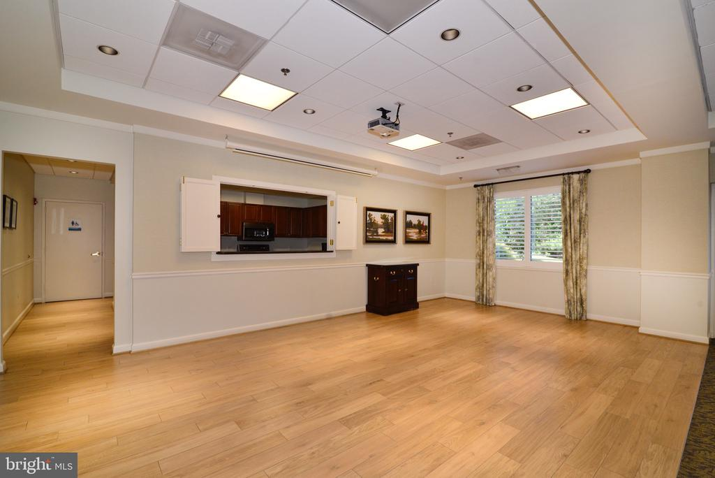 Blue Ridge party room, dance floor ! - 19375 CYPRESS RIDGE TER #803, LEESBURG
