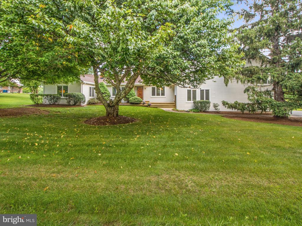 Front View from Street - 4315 ALDIE RD, CATHARPIN