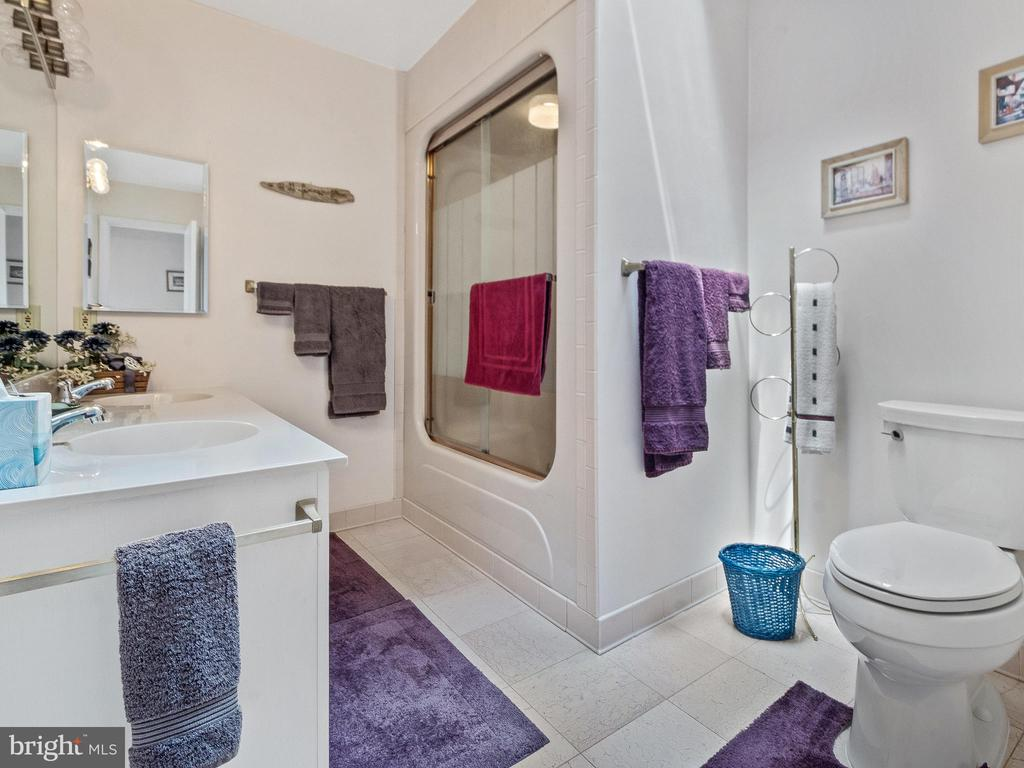 Upper Bath at Family Room. - 4315 ALDIE RD, CATHARPIN