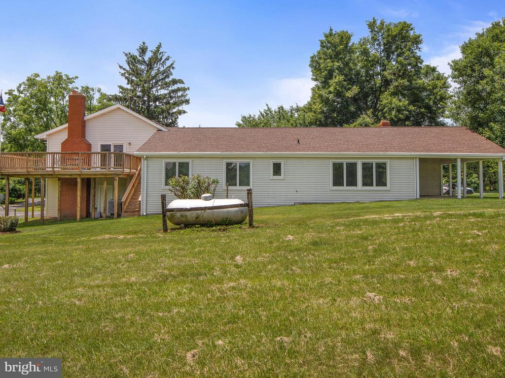 Rear View 2 - 4315 ALDIE RD, CATHARPIN