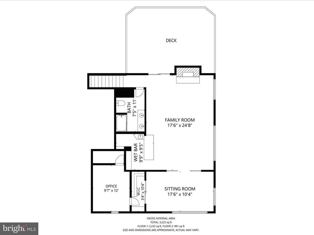 Upper Level over the Garage - 4315 ALDIE RD, CATHARPIN