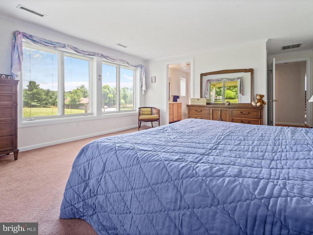 Master Bedroom toward Master Bath - 4315 ALDIE RD, CATHARPIN