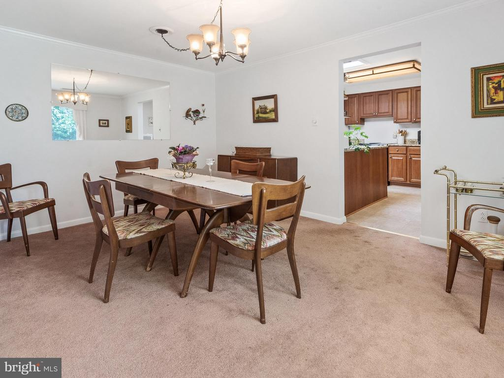 Dining Room - 4315 ALDIE RD, CATHARPIN
