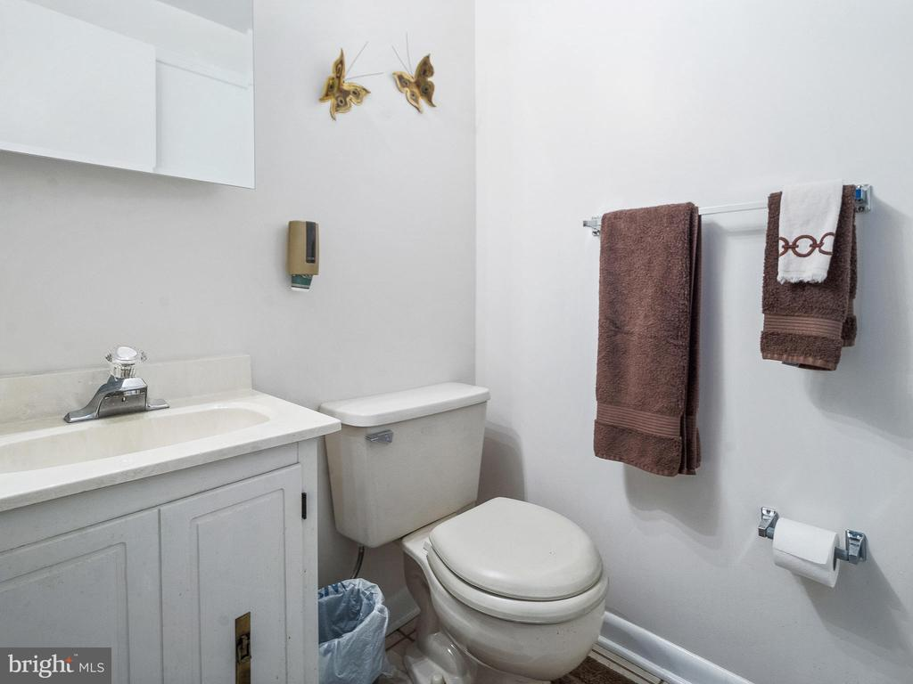 Hall Powder Room - 4315 ALDIE RD, CATHARPIN