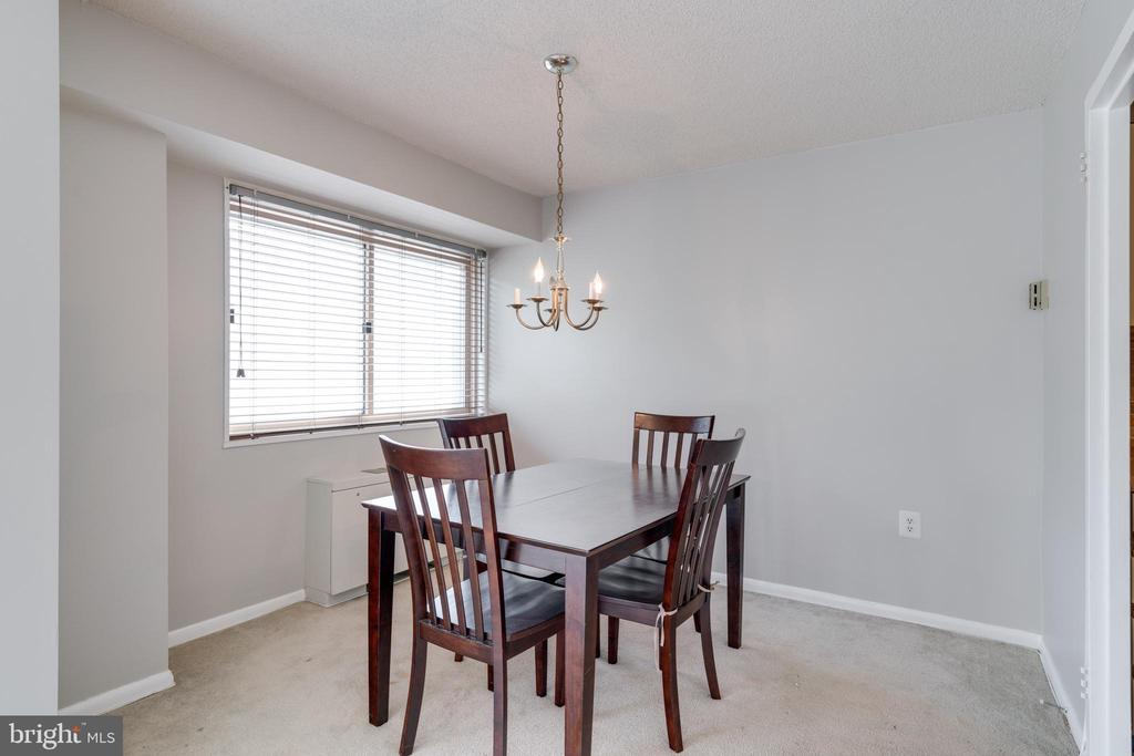 View of dining area from living room - 2500 N VAN DORN ST #422, ALEXANDRIA