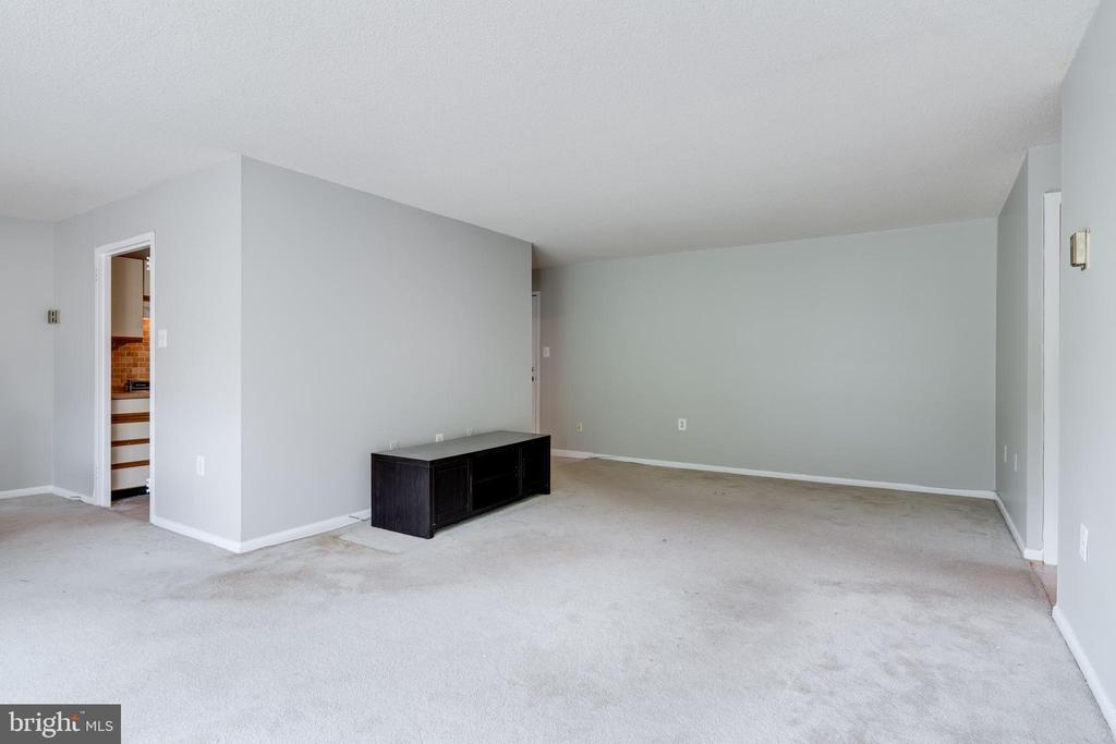 Large living room - 2500 N VAN DORN ST #422, ALEXANDRIA