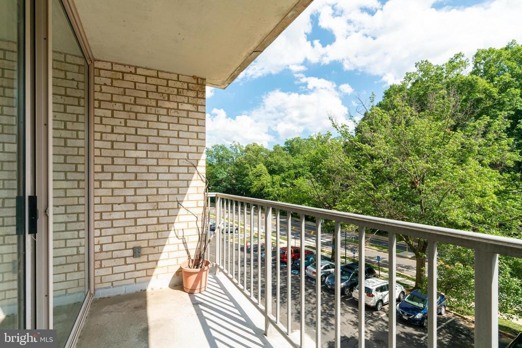 Private balcony - 2500 N VAN DORN ST #422, ALEXANDRIA