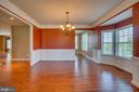 Large formal dining room! - 38 JANNEY LN, FREDERICKSBURG