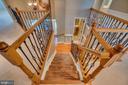 Stunning staircase! - 38 JANNEY LN, FREDERICKSBURG