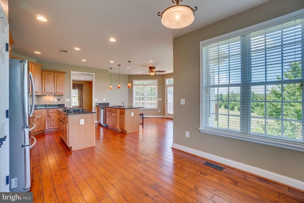 Kitchen off the family room and dining room! - 38 JANNEY LN, FREDERICKSBURG