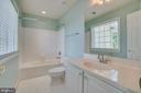 Bedroom #2 private full bath! - 38 JANNEY LN, FREDERICKSBURG