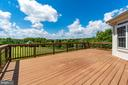 Large deck waiting for barbecues! - 38 JANNEY LN, FREDERICKSBURG