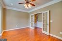 Double door entrance to your home office! - 38 JANNEY LN, FREDERICKSBURG