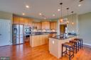 Room for all in this fabulous kitchen! - 38 JANNEY LN, FREDERICKSBURG