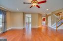 Family room makes for great access to all areas! - 38 JANNEY LN, FREDERICKSBURG