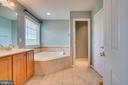 Master bath! - 38 JANNEY LN, FREDERICKSBURG