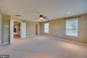 Master suite with double door entrance! - 38 JANNEY LN, FREDERICKSBURG
