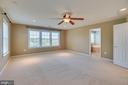 Master bedroom with tons of natural light! - 38 JANNEY LN, FREDERICKSBURG