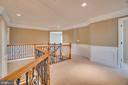 New carpet on bedroom level! - 38 JANNEY LN, FREDERICKSBURG