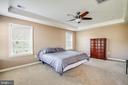 master bedroom - 1024 W KENSINGTON CIR, FREDERICKSBURG