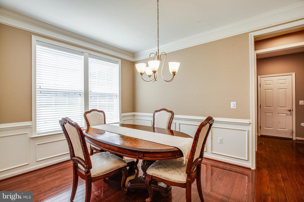 dining room - 1024 W KENSINGTON CIR, FREDERICKSBURG