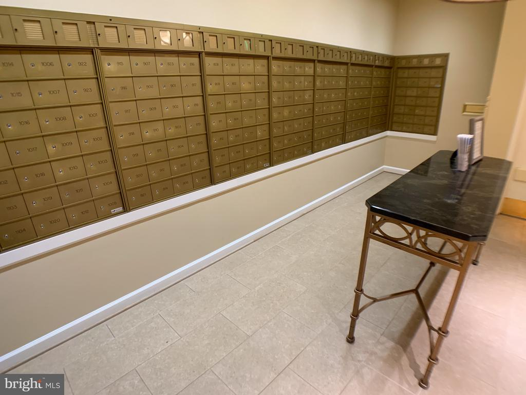 Residents mail boxes in lobby - 19375 CYPRESS RIDGE TER #803, LEESBURG
